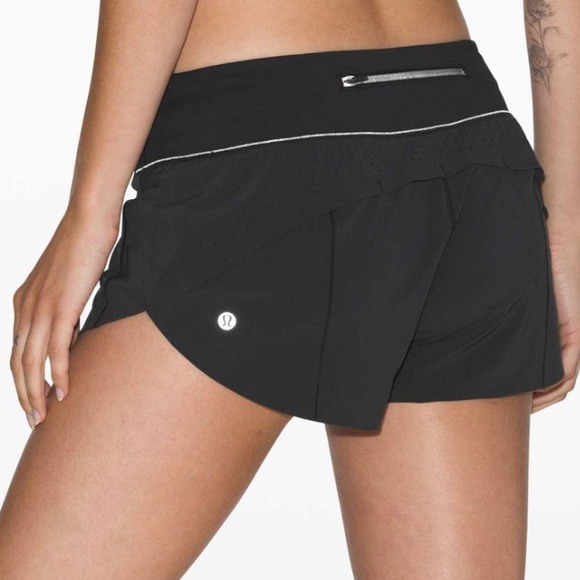 Lululemon speed up shorts breathes size 2